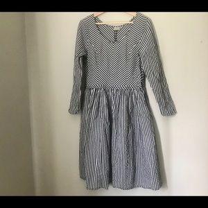 eShakti Midi Dress
